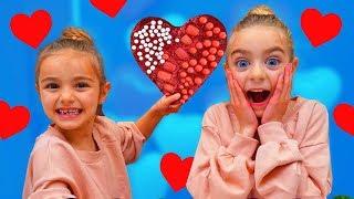 Slime de corazones decorado por Las Ratitas SaneuB