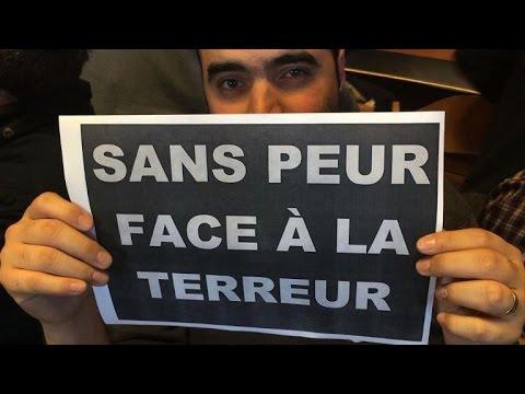 Attentat: rassemblements dans le monde en soutien à la France