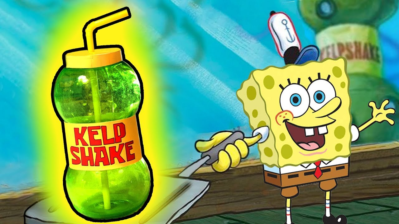 How To Make The Kelp Shake From Spongebob Squarepants
