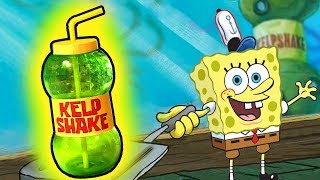 How to make the KELP SHAKE from Spongebob Squarepants!