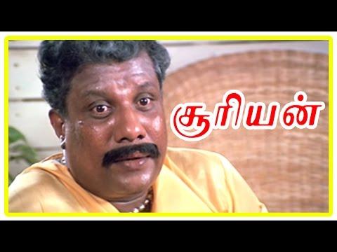 Suriyan Tamil Movie Scene | Rajan P Dev expired | Sarath Kumar runs away from hospital | Babu Antony