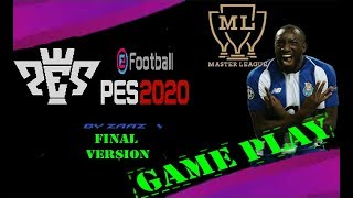 PES 2020 Final Version - MASTER LEAGUE #GAMEPLAY #7 (PSX - ANDROID - PLAY STATION)