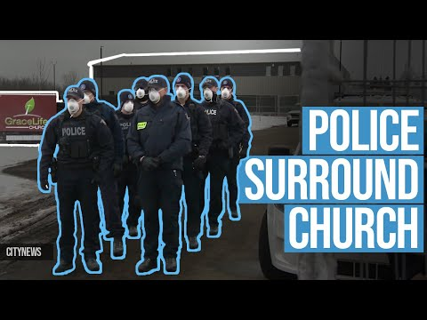 'Just like China': Police at Canadian church force Christians UNDERGROUND