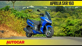2020 Aprilia SXR 160 review - Maxi impact | First Ride | Autocar India