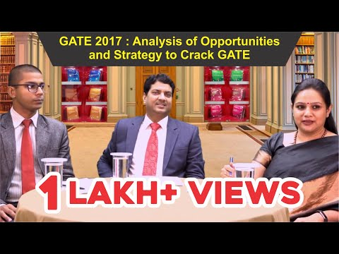 GATE 2017 : Analysis of Opportunities and Strategy to Crack GATE by Mr. B. Singh (Ex. IES) CMD