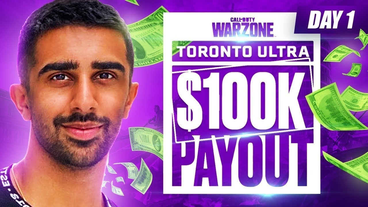 🔴 $100,000 WARZONE TOURNAMENT - Toronto Ultra Canada Cup Day 1