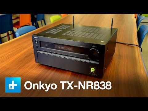 Onkyo TX NR838 Receiver - Hands on Review