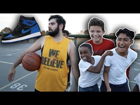 BUYING RANDOM KIDS AIR JORDANS!! *Emotional*