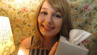 ASMR | Girlfriend Takes Care of You When You're Sick | For All Genders | Scalp Massage | Humming