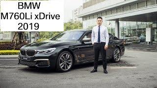 Đánh giá BMW M760Li 2019 chính hãng giá 13 tỷ đồng có những options gì? Hotline BMW: 0902828386