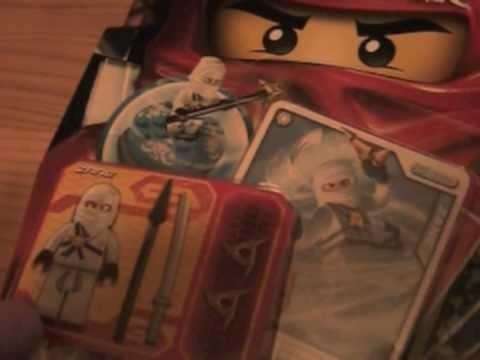 LEGO Ninjago Zane Spinner review