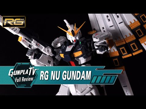 RG NU Gundam | Gunpla TV