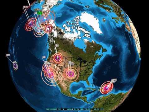 Earthquake update with odd calm area ready to shake the globe