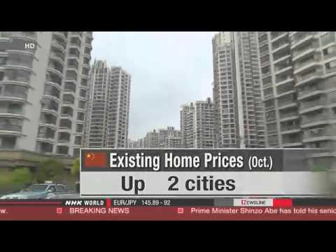 China's housing prices continue to fall