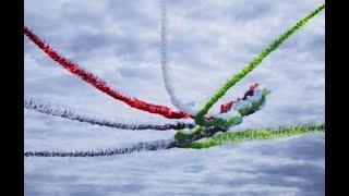Потрясающий полет Рыцарей из Арабских Эмиратов