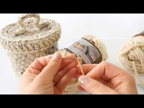 Bulky Crochet basket