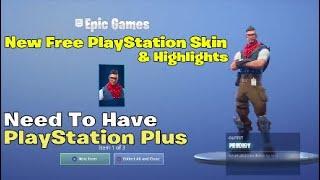 New Free PlayStation Plus Skin & destaques | Fortnite