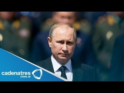 Vladimir Putin apoya tregua en Ucrania / Vladimir Putin supports truce in Ukraine