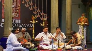 Carnatic Music Sri. Sanjay Subrahmanyan Swathi Music Festival Kerala
