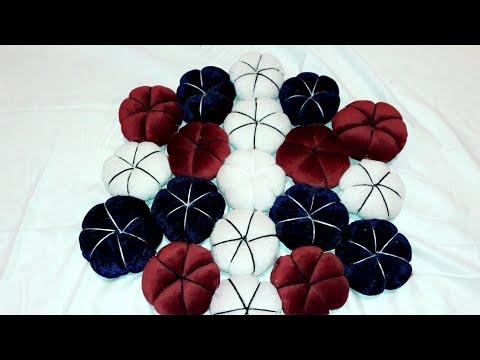beautiful puff flower mat - 480×360