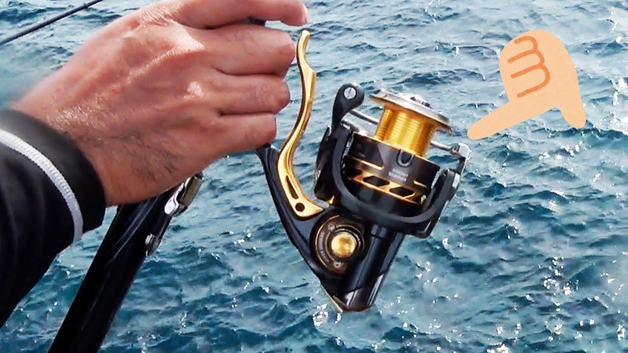 【悲報】謎の大魚とのファイトで糸全部持ってかれリール使用不可に…【クイシで大物狙い #3】