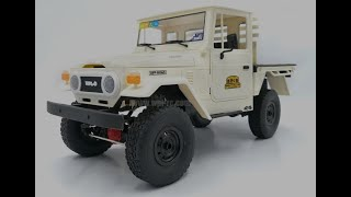 WPL C44 KM Truck Overview And Electronics Build
