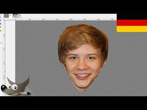 Tutorial: Kopf in anderes Bild einfügen mit Gimp (German)