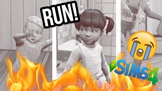 SURVIVING 7 DEADLY TODDLERS CHALLENGE // The Sims 4