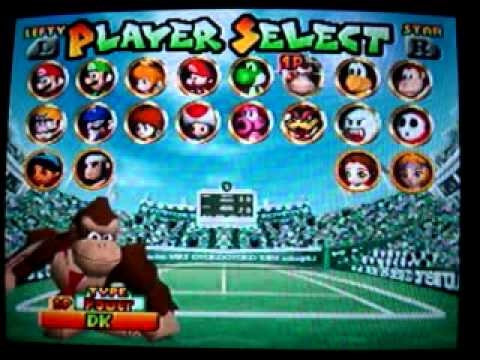 Mario tennis 64 hints and tips