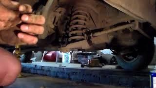 Разборка передка ваз 2101-2107.Снятие передней пружины или как снять за 10 минут.