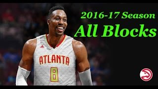 Repeat youtube video Dwight Howard All Blocks Of 2016-17 Season ll BLOCK PARTY ll