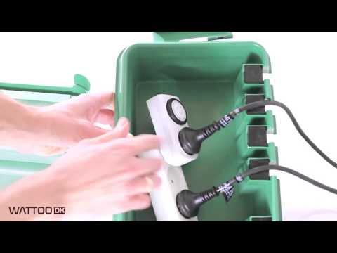 Fantastisk! Fantastisk mad DRiBOX - Udendørs vandtæt el-samledåse (IP55) - f.eks. til haven BY53
