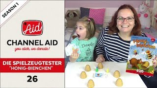 Honig Bienchen feat. Die Spielzeugtester   Channel Aid   S1 Ep26