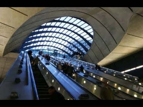 LONDON UNDERGROUND STATIONS + CANARY WHARF 18,01 2018