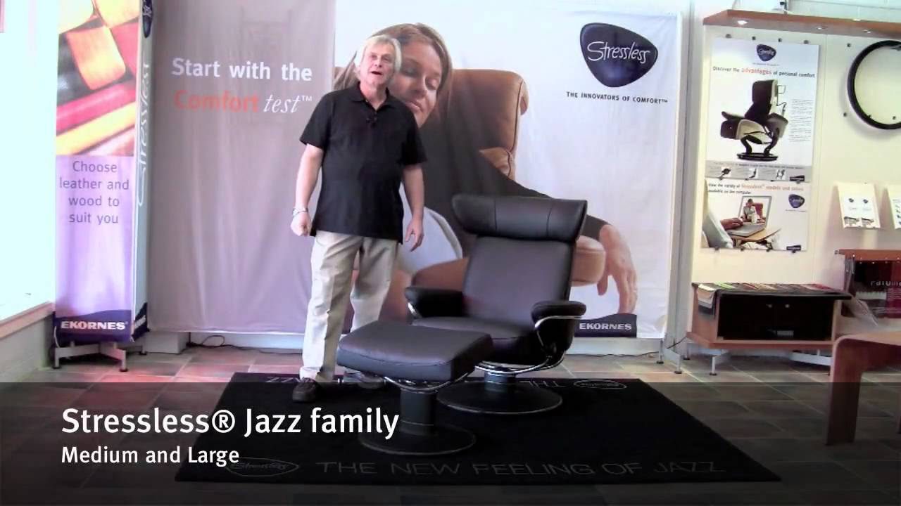 Stressless Fauteuil Ambassador.Stressless Jazz Family By Ekornes Jazz Medium And Large
