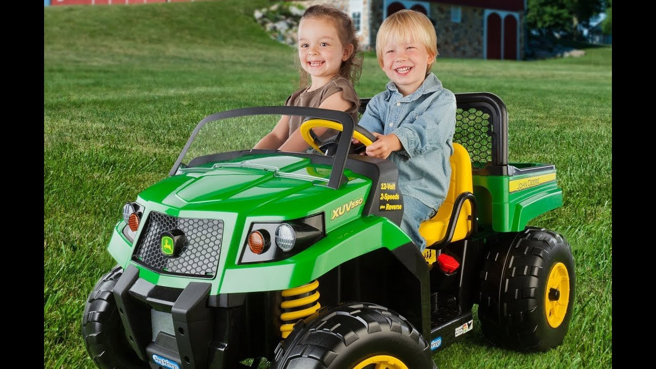 The Ultimate John Deere Ride On Toys Hayneedle Com Youtube