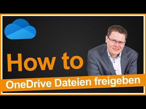 OneDrive Dateien freigeben