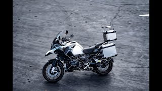DEMO: The self-riding BMW R 1200 GS motorcycle