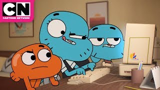 Gumball Teaches Nicole How To Use The Internet | The Amazing World Of Gumball | Cartoon Network
