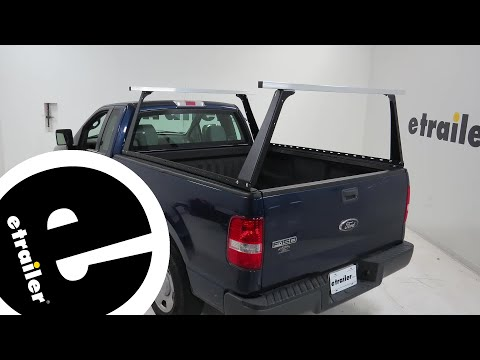 Adarac Custom Truck Bed Ladder Rack Installation - 2008 Ford F-150 - etrailer.com