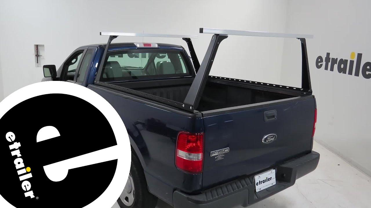 etrailer adarac custom truck bed ladder rack installation 2008 ford f 150