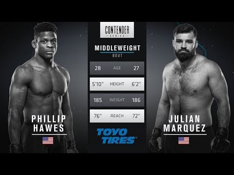 FREE FIGHT | Marquez Lands Devastating Head Kick | DWTNCS Week 4 Contract Winner - Season 1