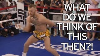 """JEFF MAYWEATHER IMITATES CONOR MCGREGOR'S OCTOPUS MOVE: """"WHAT'S THIS BULL SH!T?!"""
