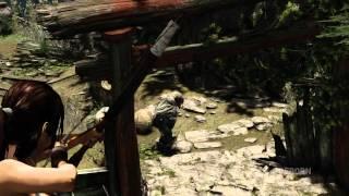 Tomb Raider (2013)  — уроки выживания: бой
