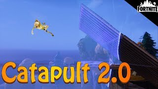 FORTNITE - Catapult 2.0 And Basketball Hoop Trap
