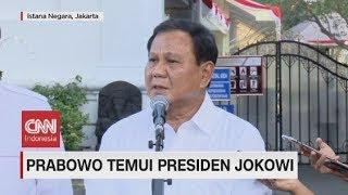 Temui Presiden Jokowi, Prabowo Diminta Membantu Bidang Pertahanan