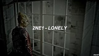 2NE1 - Lonely MV // Sub. español