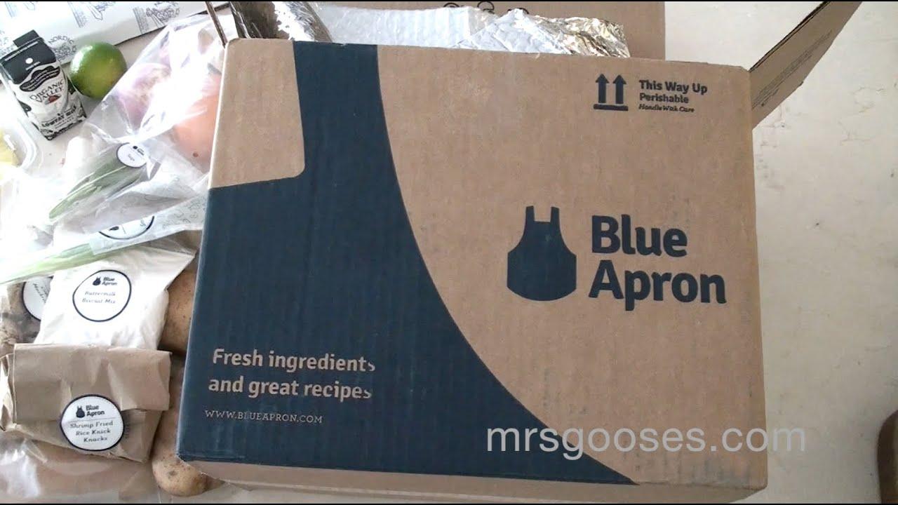 Blue apron top chef - Unboxing A Blue Apron Food Box 2016 12 10