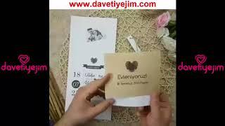 Düğün Davetiye Örnekleri / www.davetiyejim.com