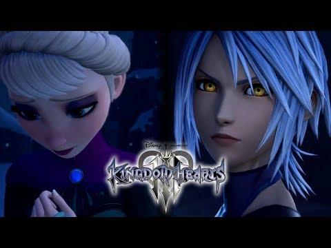 Kingdom Hearts 3 - FROZEN Trailer Vol.1 - Analysis - Aqua Now Half Xehanort?